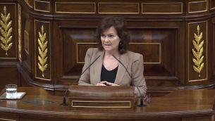 El Congrés avala l'exhumació de Franco