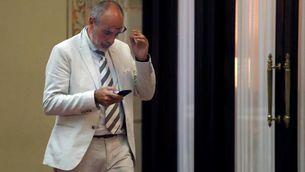 Joan Ridao, lletrat major del Parlament, aquest dijous a la cambra (EFE)