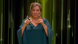"""El discurs d'Isona Passola: """"Un país sense audiovisual no és país"""""""