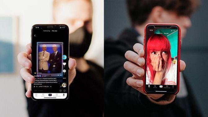 TV3 i Catalunya Ràdio s'estrenen a TikTok, l'app de vídeos curts més popular del món