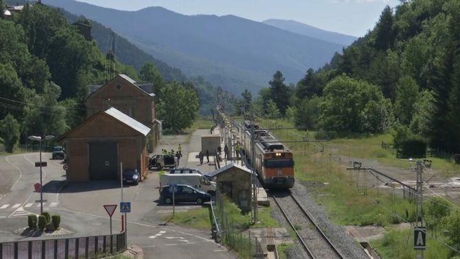 Ribes de Freser i Puigcerdà, sense tren durant 7 mesos per les obres del túnel de Toses
