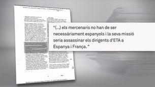 Felipe González hauria sabut que es creaven els GAL, segons un informe de la CIA del 1984