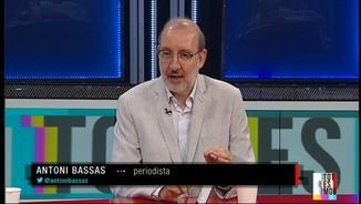 """Imatge de:Antoni Bassas: """"El govern espanyol té pocs incentius per a la taula de diàleg. Li funciona que la banda catalana no es posi d'acord"""""""