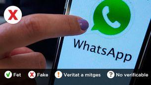 Torna l'estafa que et roba el compte de WhatsApp amb un SMS fals d'un contacte