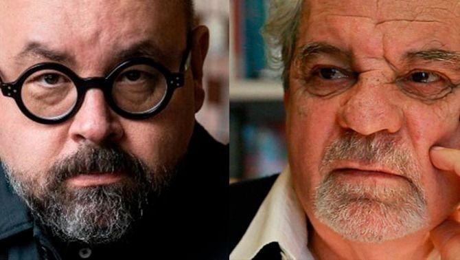 Controvertit homenatge de Barcelona a Juan Marsé i Carlos Ruiz Zafón
