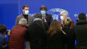 El Parlament Europeu aixeca la immunitat a Puigdemont, Comín i Ponsatí