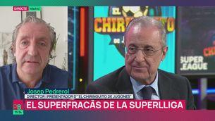 """Josep Pedrerol: """"La Superlliga ha desaparegut, la proposta ha fracassat"""""""