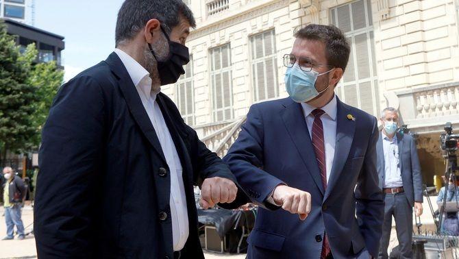 Aragonès i Sànchez desbloquegen el pacte en 48 hores