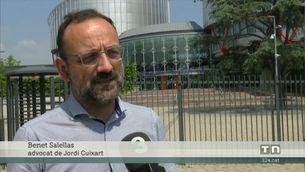 Jordi Cuixart és el primer pres independentista a portar el seu cas a la justícia europea