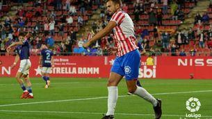 El Girona supera el Valladolid amb un gol de Stuani i surt del descens (1-0)