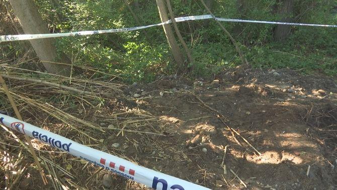 Troben un cos semienterrat en una zona boscosa d'Albesa propera al riu