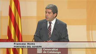 """Homs: """"Són declaracions penoses"""""""