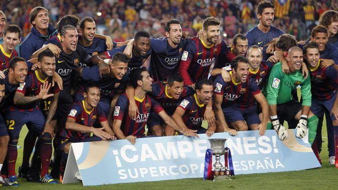 El Barça de Tata Martino guanya la Supercopa davant l'Atlètic, en empatar al Camp Nou (0-0)