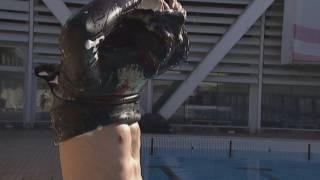 Imatge de:Aleix Segura, campió del món en apnea estàtica