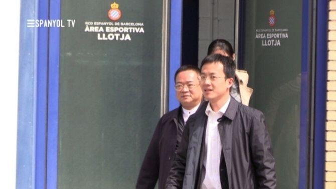 Chen Yansheng abona el deute pendent per la construcció de l'estadi de Cornellà-el Prat