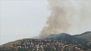 Incendi a Alella