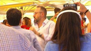 El candidat de Ciutadans, Juan Carlos Girauta