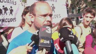 Declaracions manifestació a favor refugiats