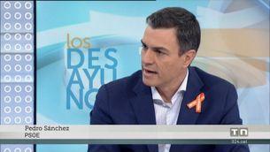 Pedro Sánchez, favorable a canviar el Codi Penal