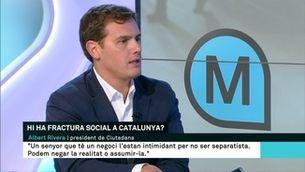 """Rivera acusa TV3 de """"mentir i manipular"""" i els Mossos de ser una policia política"""