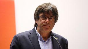 Puigdemont, durant un acte aquest setembre a Brussel·les (Reuters)