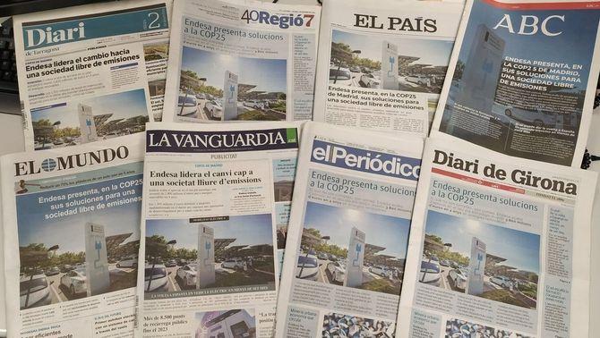 Endesa, l'empresa que més contamina a Espanya, llueix sostenibilitat a la COP25