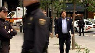 EL TJUE sentencia passant la pilota al Suprem sobre la immunitat de Junqueras