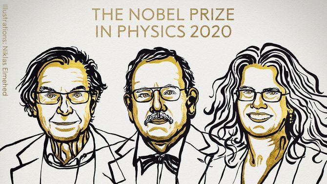 Els forats negres protagonitzen el Nobel de Física, que guanyen Penrose, Genzel i Ghez