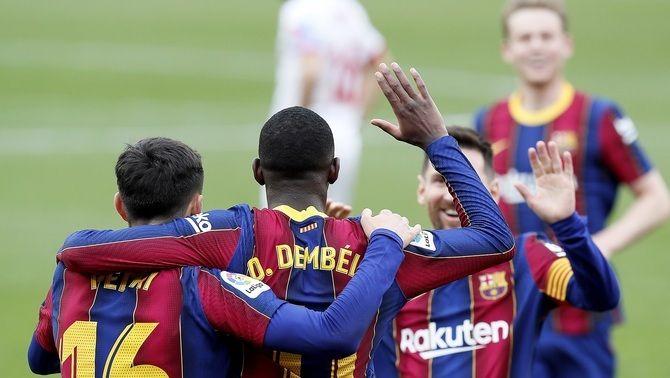 Tercera millor ratxa a domicili de la història del Barça