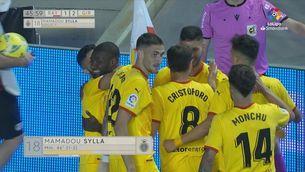 Resum del Rayo-Girona (1-2)