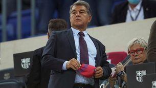 Laporta, decebut per l'empat contra el Granada