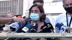 Un macrobotellot amb 40.000 persones a plaça Espanya acaba amb 22 detinguts, 43 ferits i nombroses destrosses