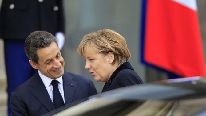Merkel i Sarkozy volen un nou tractat europeu encara que no impliqui tots els 27 estats membre