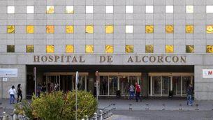 L'Hospital d'Alcorcón, on la víctima va ingressar aquest diumenge, 5 d'octubre. (Foto: EFE)
