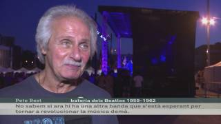 Imatge de:Pete Best al Festival Barcelona Beatles Weekend