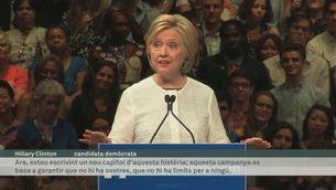 Hillary Clinton confirma els avals per ser la candidata demòcrata