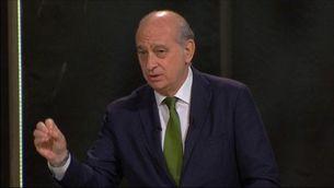 Fernández Díaz contesta la pregunta de l'audiència del debat