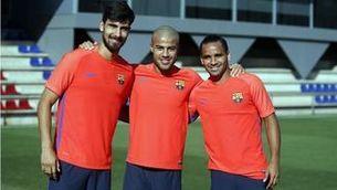 Rafinha es reincorpora als entrenaments del Barça