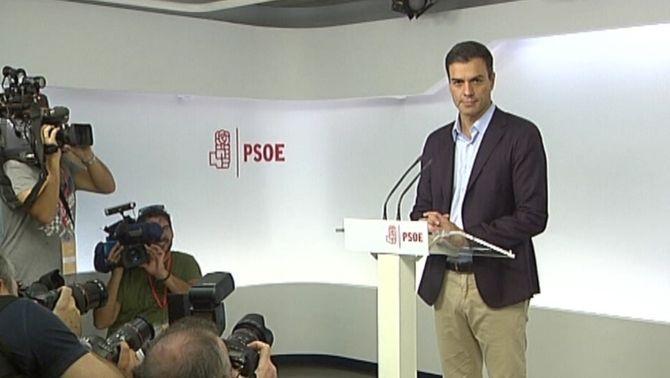 Pedro Sánchez dimiteix com a secretari general del PSOE després d'un comitè federal convuls