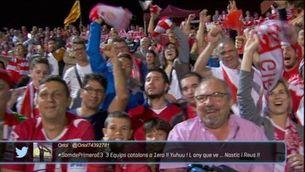 El Girona dona la volta d'honor a Montilivi