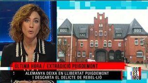 Alemanya descarta el delicte de rebel·lió en el cas de Puigdemont