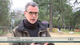 """Es roda la sèrie de TV3 """"Moebius"""", creada pel director de """"Merlí"""", Eduard Cortés"""