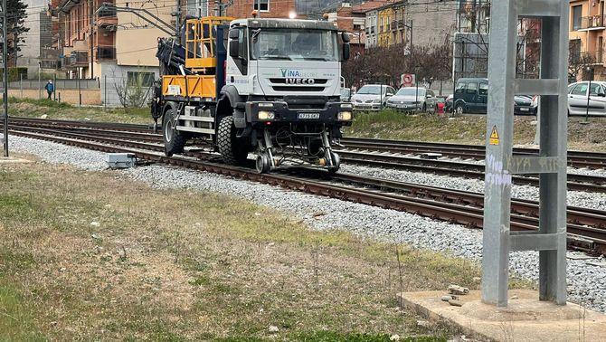 Un ferrocamió es desfrena al túnel de Toses i circula sense control fins a Ripoll