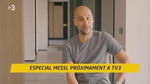 """Guardiola: """"Messi no trobarà un millor hàbitat que a Can Barça"""""""
