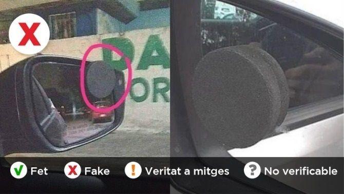 Torna el rumor de l'esponja sedant enganxada al retrovisor del cotxe per robar-te