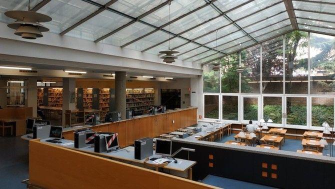 Biblioteca de la facultat de Dret de la Universitat de Lleida