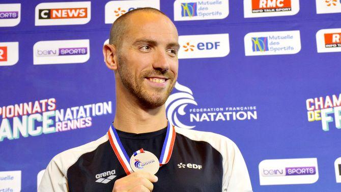 El campió olímpic de natació Jérémy Stravius