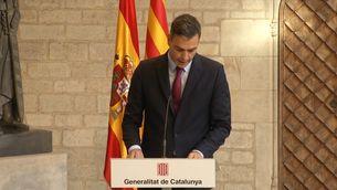 Aragonès i Sánchez coincideixen que les posicions estan molt allunyades