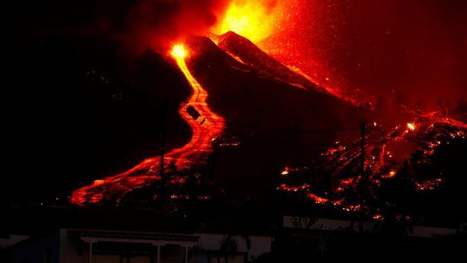 Les imatges de l'erupció del volcà Cumbre Vieja a La Palma