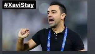 Campanya a Qatar perquè Xavi es quedi